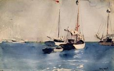 Winslow Homer, Key West,1903. Watercolor. Fogg Museum of Art, University of Harvard, Cambridge, Ma (United States).