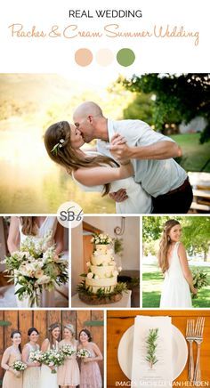 Peaches & Cream Summer Wedding by Michelle van Heerden | SouthBound Bride www.southboundbride.com/peaches-cream-summer-wedding-at-langkloof-by-michelle-van-heerden-chloe-keith