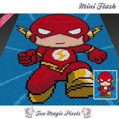 Mini Flash C2C Crochet Graph | Craftsy