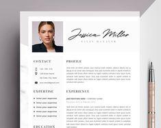 Professional CV Curriculum Vitae 2 Page Resume Simple Creative Cv Template, Template Cv, Teacher Resume Template, Modern Resume Template, Word Cv, Cv Words, Resume Words, Resume Cv, Cover Letter Template