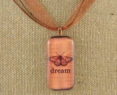 DREAM BUTTERFLY DESIGN PENDANT NECKLACE FREE SHIPPING #Pendant
