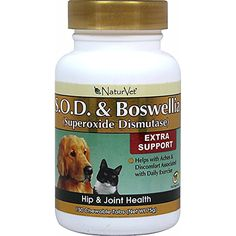NaturVet 150 Count S.O.D. and Boswellia Tablets for Dogs * Click on the image for additional details. (This is an affiliate link) #HealthSupplies