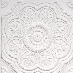 Tin White Matt DIY Ceiling Tiles
