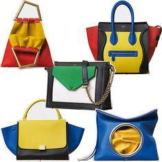 Celine Spring/Summer handbag. *Fun geometric shapes and colors. 8/6