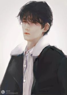 Cre on pic Character Inspiration, Character Design, Shen Wei, Handsome Anime Guys, Aesthetic Drawing, Boy Art, Asian Actors, Chinese Art, Cartoon Drawings