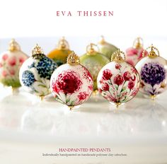 New hand-painted collections by Eva Thissen Gallery, via Flickr