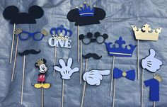 Hey, I found this really awesome Etsy listing at https://www.etsy.com/listing/510312536/mickey-mouse-prince-photo-props-mickey