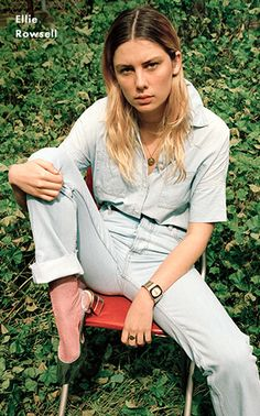 Musician Ellie Rowsell wears the Phoebe Jean