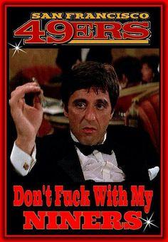 Brian de Palma named Tony Montana after SF's Joe Montana.