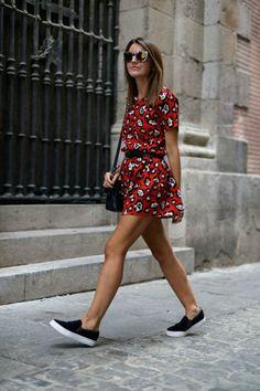 10 vezes que um sapato pesado enriqueceu um look