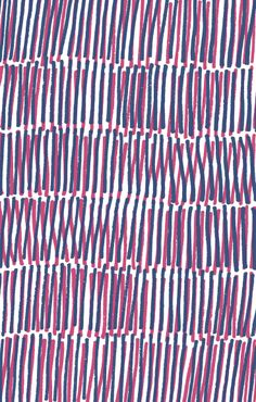 Pink and Blue stripes - Sarah Bagshaw