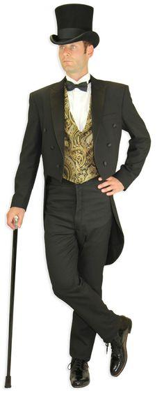 Edwardian Clothing for Men at Historical Emporium Victorian Men, Victorian Steampunk, Victorian Fashion, Victorian Outfits, Steampunk Fashion, Vintage Fashion, Dark Romance, Historical Emporium, Edwardian Clothing