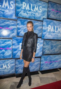 Josephine Skriver at the TAO Group In Minneapolis For Big Game Weekend on February 3 2018 in Minneapolis Minnesota