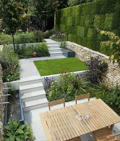 If you are looking for Small Garden Design Ideas, You come to the right place. Below are the Small Garden Design Ideas. This post about Small Garden Design Ideas. Back Gardens, Small Gardens, Outdoor Gardens, Gardens On A Slope, Contemporary Garden Design, Small Garden Design, Garden Modern, Small Square Garden Ideas, Contemporary Furniture