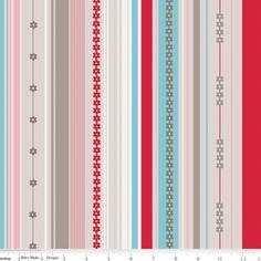 Bee in My Bonnet - Millies Closet - Stripe in Red