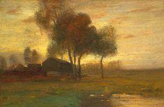 John Francis Murphy (1853-1921)Landscape with Farm, 1899