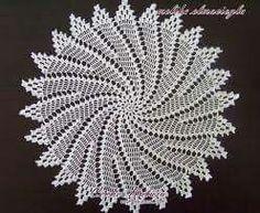patterns and motifs crocheted motif Free Crochet Doily Patterns, Crochet Doily Diagram, Crochet Lace Edging, Crochet Borders, Thread Crochet, Filet Crochet, Irish Crochet, Crochet Stitches, Crochet Carpet