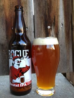 Rogue Brutal IPA - had this tonight. Not very Brutal at all. Bright orange flavors & refreshing hops. A good summer beer.