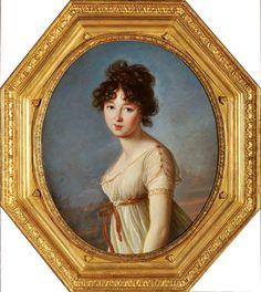 """Élisabeth Vigée Le Brun, """"Portret Anieli Radziwiłłówny"""", 1802, olej, płótno, 74 x 61 cm, Muzeum w Nieborowie i Arkadii"""