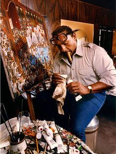 Ernie Barnes Biography: From Football Star to Legendary Artist