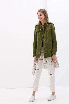 The Major Zara Sale You Should Be Shopping This Weekend #refinery29  http://www.refinery29.com/2014/08/72134/zara-last-chance-summer-sale-2014#slide5  Zara Cotton Overshirt, $59.99 (originally $79.90), available at Zara.