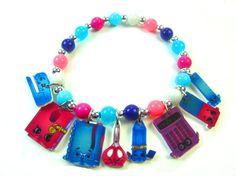Shopkins Charm Bracelet, Shopkins Jewelry, Shopkins Party Favors, Shopkins Birthday, Shopkins Necklace