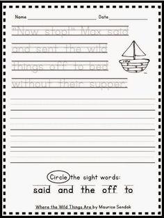 Handwriting Freebie!