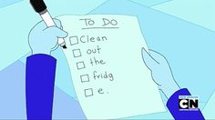 """""""Ice King's to-do list. Certainly a way to feel more productive."""""""