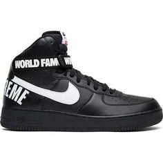 check out 3b9f1 c02ab Nike Supreme x Air Force 1 High SP  Black  698696 010