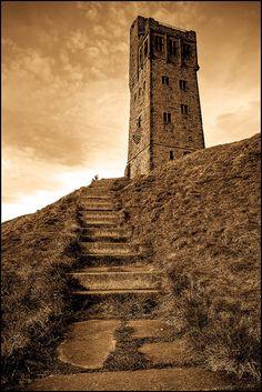 Victoria Tower, Castle Hill, Huddersfield, Yorkshire.