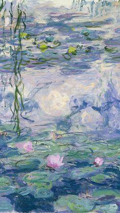 Monet Wallpaper, Wallpaper Backgrounds, Hippie Wallpaper, Blog Backgrounds, Collage Des Photos, Collage Art, Aesthetic Painting, Aesthetic Art, Images Murales