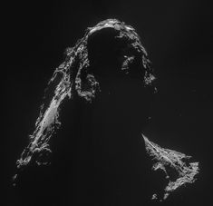 Comet 67P/Churyumov-Gerasimenko as seen from the Rosetta probe on Nov. 2, 2014.
