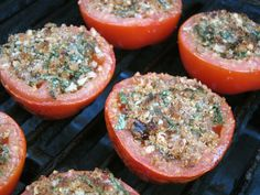 Grilled Tomatoes Provencal