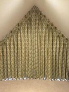 Creative Ideas To Cover My Trapezoid Window Window