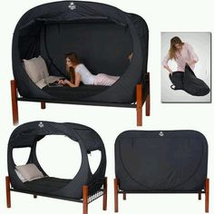 Bed and net in one
