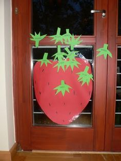 Pin the Stem on the Strawberry and other strawberry-themed party games