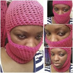 ��Ski mask Beanie  Sc.- single crochet Sk.- slip knot Ch.- chain  Needed- 6 mm crochet hook, one skein of   yarn, yarn tapestry needle.   Directions Ch. 50, sk. into first ch.  connecting to form ring.   Ch. 1, sc into each hump of the chain around.…