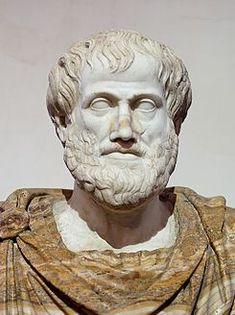 Aristóteles fue un polímata: filósofo, lógico y científico de la Antigua Grecia cuyas ideas han ejercido una enorme influencia sobre la historia intelectual de Occidente por más de dos milenios .Aristóteles fue discípulo de Platón  durante los veinte años que estuvo en la Academia de Atenas.
