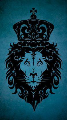 Tribal King Lion by Takihisa Lion Wallpaper, Star Wars Wallpaper, Vintage Flowers Wallpaper, Animal Wallpaper, Tribal Lion, Art, Abstract Wallpaper, Anime Wallpaper, Art Wallpaper