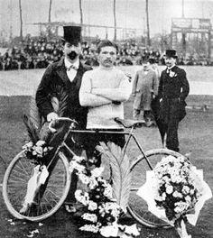 Maurice Garin, first winner of Le Tour de France, 1903.