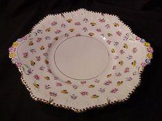 Royal Staffordshire Cake Plate, Bone China, England
