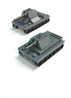 Micro Lego tank. WW2 Italian Carro Armato P40. | by Yitzy Kasowitz