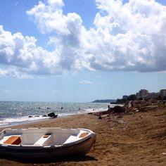 Seaside in Mersin Turkey