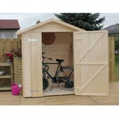 Casetta da giardino in legno170x180x218 h