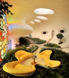 shell house by javier senosiain, nature inspired