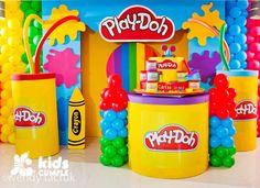 Cumpleaños Play Doh de Mía Catherina - ecumple