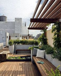20 Chic and Fun Roof Gardens | House Design And Decor