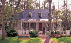Cottage Country Southern House Plan 86216