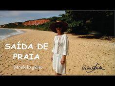 YouTube 35, Look, Youtube, Diy Creative Ideas, Lace, Modeling, Dressmaker, Beachwear Fashion, Tejidos