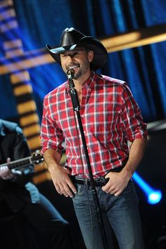 Tim McGraw at the Music Builds: CMT Disaster Relief Concert in May '11
